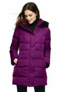 Down Coat LANDS END Women's   BNWT, size XS-S. Warm. High quality. Weatherproof