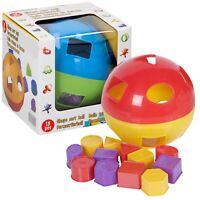 Kids Children's Shape Sorter Ball Colourful Toddler Learning Educational Toy Fun