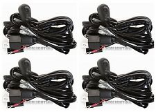 4X 8ft 40A 12V Power Switch & Relay Wiring Harness Kit for LED Light Bar Offroad