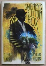 STEPHEN KING ~ GWENDY'S BUTTON BOX ~ RICHARD CHIZMAR ~ FIRST PRINTING ~ HC ~ NEW