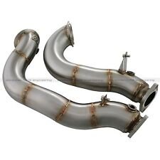 AFE 2007-2010 BMW 135i 335i 3.0L TT TWIN TURBO N54 HIGH FLOW CATLESS DOWNPIPES