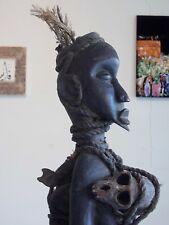 Art Africain - Fétiche - Nkisi Nkondi Vili / Kongo - (Bilongo sur le dos). R.D.C
