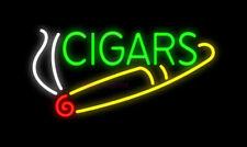 "New Cigars Neon Sign Beer Cub Gift Light Lamp Bar Wall Room 24""x20"""