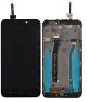 TOUCH SCREEN VETRO + LCD DISPLAY ASSEMBLATI Per XIAOMI REDMI 4 x 4x nero frame