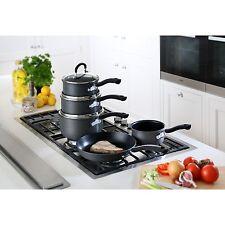 Tefal 5 pc inspire hard anodisé non-stick casserole pan casserole poêle cookware set