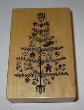 Christmas Tree Rubber Stamp PSX Angel Topper Train Ice Skate Cat Rag Dolls Horse