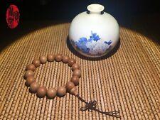 India Sandalwood Single Circle Buddha Beads Rosary 12mm Beads