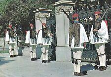 EVZONES (PRESIDENTIAL GUARD) Athens, Greece Postcard!