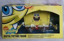 "SpongeBob Squarepants 7"" Digital Photo Frame & Alarm Clock With Snooze Button"