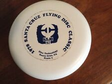 Good Times golf disc 134g. 1978 Santa Cruz Flying Disc Classic. New. 00P