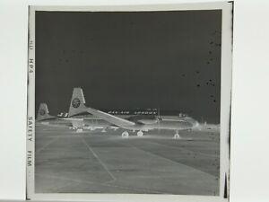 DAN AIR LONDON Hawker Siddeley 748 G-BEJE Original Large Negative (Marked Film)