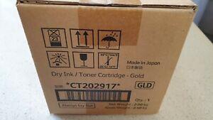 Genuine Xerox CT202917 Gold Toner (GLD) for Iridesse Production Press Brand New