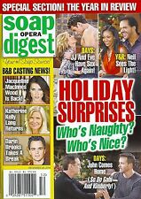 Soap Opera Digest Magazine - December 29, 2014 - Year In Review, Brandon Barash