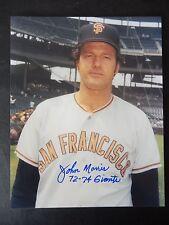 """John Morris Autographed 8"""" X 10"""" Photograph"""
