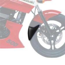 Guardabarros negros para motos Kawasaki