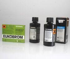 Tetenal Stoppbad geruchlos 0,25 & Ultrafin Liquid SW Negativentwickler 0,25L ..
