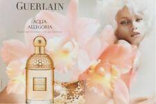 Publicité papier - advertising paper - Aqua Allegoria de Guerlain  2 pages