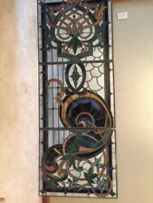 Stained Glass Window Panels 9Ft X 3Ft APPOX. Best American Available See Photos