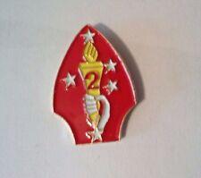 "2nd Marine Division Hat Pin, Cap, Lapel      1"""