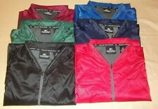 Mens Mizuno Teamwear Navy Royal Red Maroon Gray Short Sleeve Windbreaker 1/4 Zip