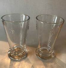 La Rochere Set of 2 Bee Highball Glasses, Drinks Water Decorated Glassware