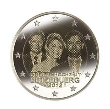 2 euro 2012 Luxemburg Huwelijk /Mariage / Hochzeit Commemorative - zo uit de rol