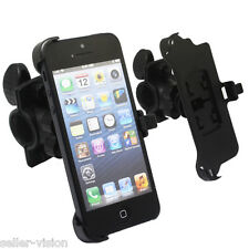 Bicycle Bike Cycle Sports Handlebar Mount Holder Cradle Clamp for Apple iPhone 5