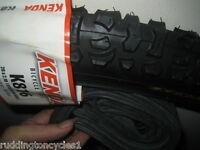 Black Smoke Kenda 26 x 2.10 MTB cycle / bike tyre and tube schrader valve K816