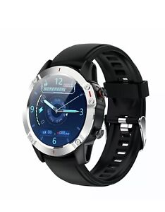 ECG Mens Fitness Tracker Smart Watch Heart Rate Blood Pressure Touch IOS Android