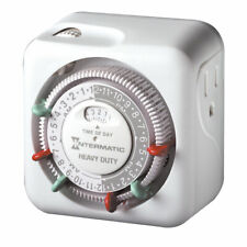 Intermatic Heavy Duty  Indoor Plug In Timer 125 volt White