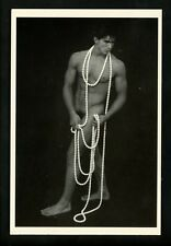 Nude postcard American Postcard Co. #3106 Male posing Andrew Melick