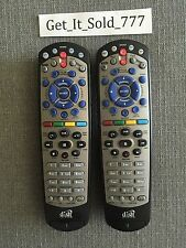 Lot Of 2 Dish Network 20.1 #1 IR Satellite Receiver Remote Controls!