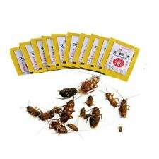 10Bags/lot Powerful Cockroach Killing Bait Powder Home Pest Killer Insecticide