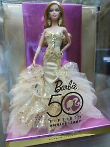 NRFB 2008 Barbie Collector 50th Anniversary Doll N4981 by Robert Best