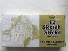 Box Of 6 Pastel Sketch Sticks Ocaldo  Yellow Ochre  Other Colours Available  New