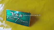 Inglés Verde Esmalte BSA Insignia Pin de Solapa De Metal Flash De Oro Broche Nuevo Calidad