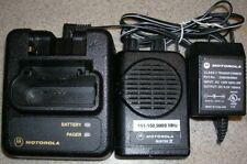 Motorola Minitor Iv 2-Channel Vhf 151-158.999 Mhz Non Stored Voice