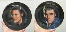 Elvis Presley-Portraits of the King Series-2 Collector Plates-By D Zwierz NIB