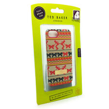 TED BAKER Hard Shell Scratch Proof Printed Case For iPhone 5/5S -RINKLE FAIRISLE