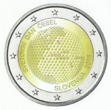SLOVENIË 2018 - 2 Euro - Wereldbijendag/Journée Mondiale de l'Abeille - UNC