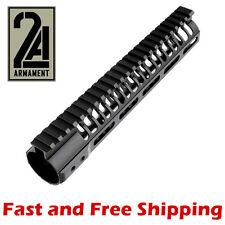 2A Armament 10-Inch SR M-LOK Rail System / Free-Float Handguard w/ Aluminum Nut