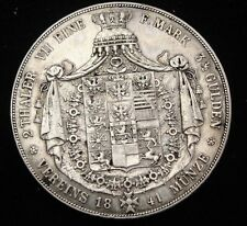 1841 Prussia 2 Thaler Silver Coin Looks VF/XF Km #440.1