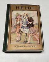 Heidi by Johanna Spyri - Illustrated - Pub David McKay The Golden Books 1923