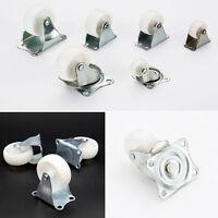Universal Swivel Casters Wheels Castor PP Nylon Wheel Platform Fruniture Trolley