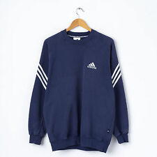 Vintage ADIDAS Sweatshirt in Navy Size M Medium D4 Crew Neck Pullover Sweat