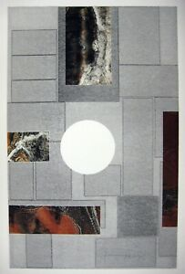 Laszlo Dus - Original Monoprint 1/1 on Stonehenge rag paper Signed Dated SUPERB