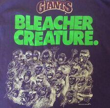 San Francisco Giants VTG 1993 Bleacher Creature T Shirt Mock Graphics Large
