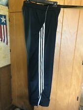 2 Pair of Size M Men's Adidas 2 pocket Polyester Straight Leg Athletic Pants