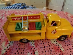 "VINTAGE RED AND YELLOW BUDDY ""L""/MACK COCA COLA DELIVERY TRUCK"