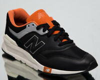 New Balance 997H Men's New Black Orange Casual Lifestyle Sneakers CM997-HGB